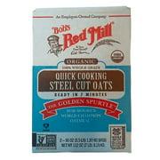 Bob's Red Mill Organic 100% Whole Grain Quick Cooking Steel Cut Oats (112 OZ)