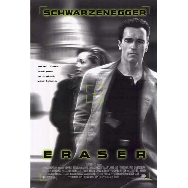 Eraser Movie Poster Style A 27 X 40 1996 Walmart Com Walmart Com
