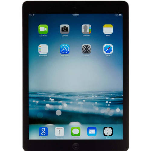 "Refurbished Apple 16GB iPad Air with WiFi 9.7"" Touchscreen Tablet Featuring iOS 9 Operating System"