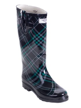 a88b233ea Product Image Women Rubber Rain Boots with Cotton Lining