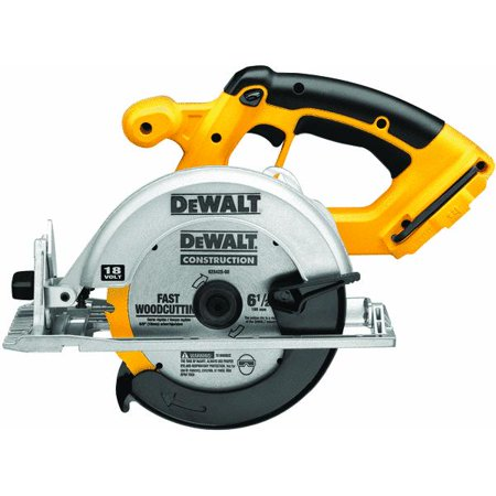 DEWALT 18-Volt NiCd Cordless 6-1/2 in. (165 mm) Circular Saw (Tool-Only)
