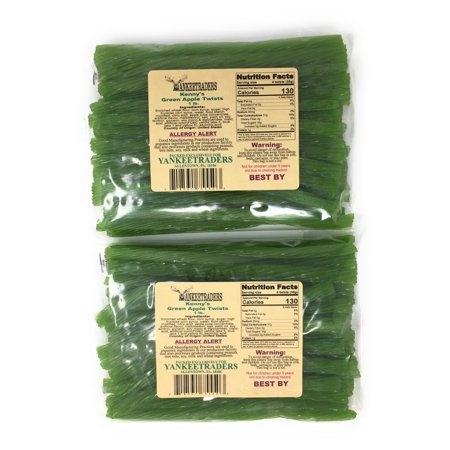 Green Apple Licorice Twists - 2 - Green Apple Licorice