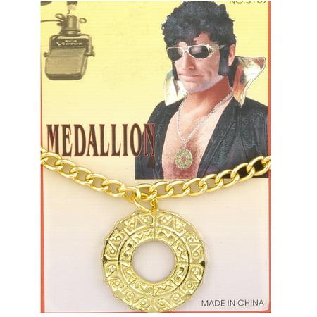Disco Medallion - Mens Disco Outfits