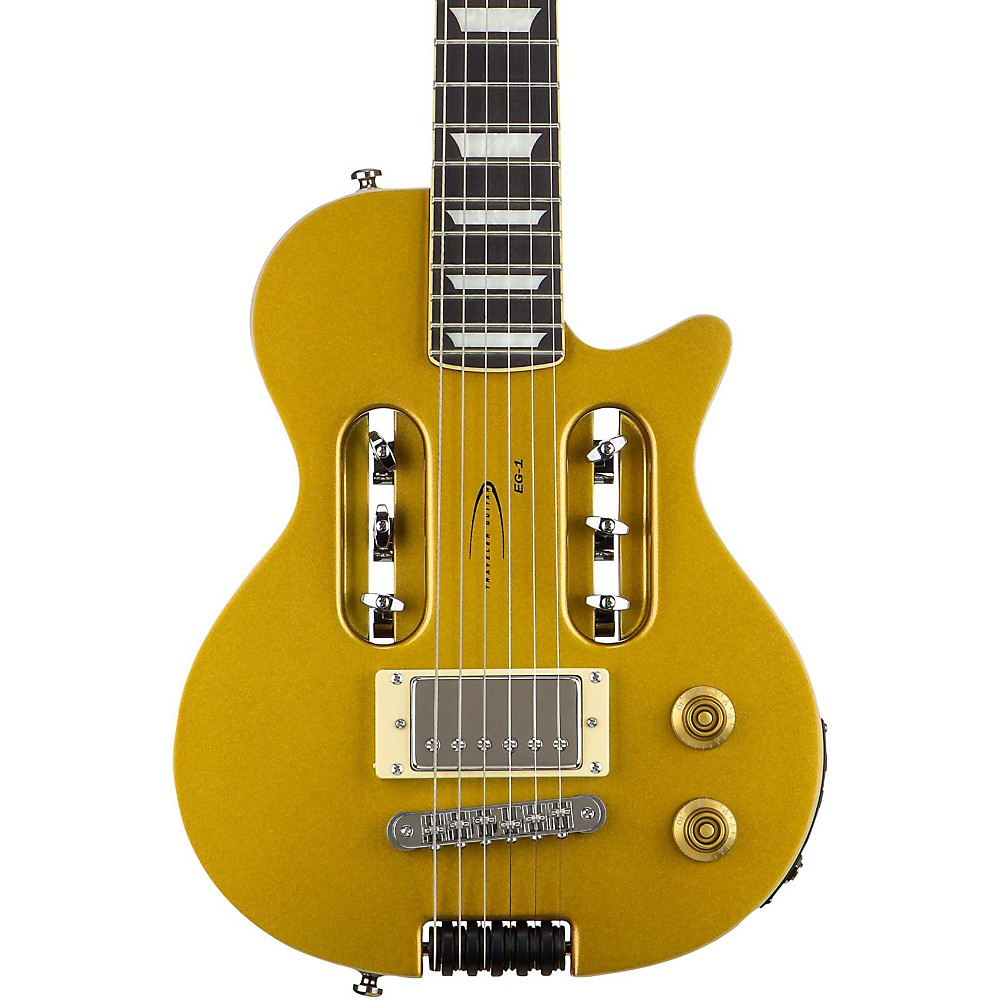 Traveler Guitar EG-1 Custom Electric Travel Guitar Gold