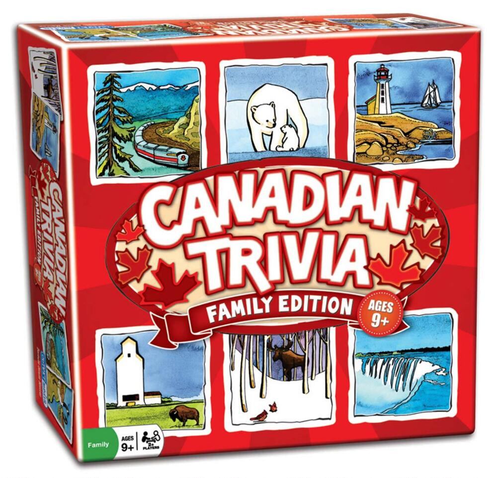 Canadian Trivia-Family Edition by
