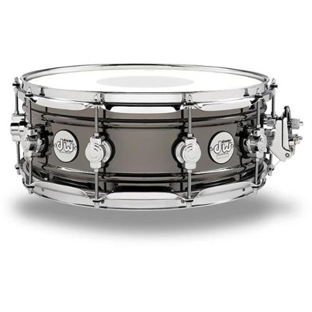 DW Design Series Black Nickel over Brass Snare Drum (Dw 14x8 Snare Drum)