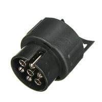 7 to 13 Pin Trailer Truck Towbar Towing Socket Plug Adapter Electric Converter