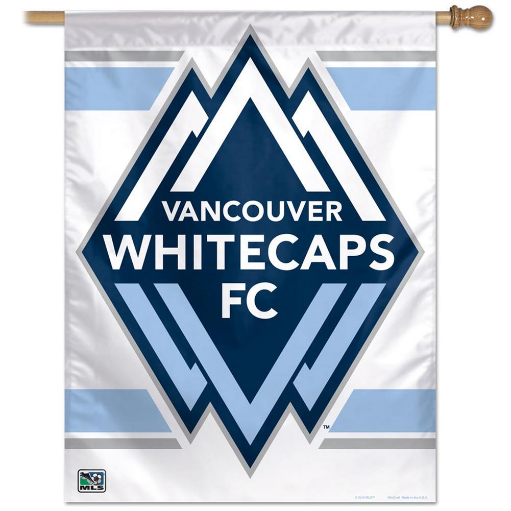 Vancouver Whitecaps FC Vertical Outdoor House Flag