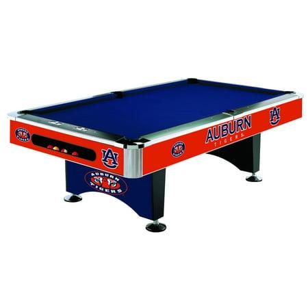 AUBURN UNIVERSITY Tigers 8 Ft Pool Table Billiards
