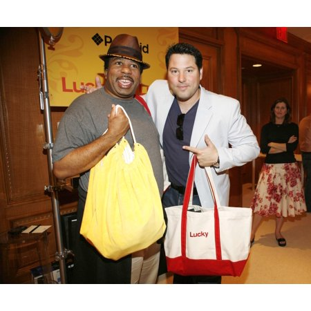 Leslie David Baker Greg Grunberg   Inside For Lucky Club Gift Lounge For The 2007-2008 Tv Network Upfronts Previews The Ritz Carlton Hotel New York Ny May 14 2007 Photo By B MedinaEverett Collection C for $<!---->