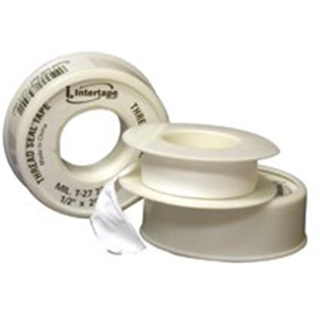Intertape Polymer Group 761-11-1/2X260 Thread Seal Tape 0. 5 inch x 260 inch White