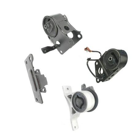 Engine Motor & Auto Trans. Mount Set 4PCS for 2004-2006 Nissan Maxima 3.5L with Sensor EM5672, EM9248, EM9223, -