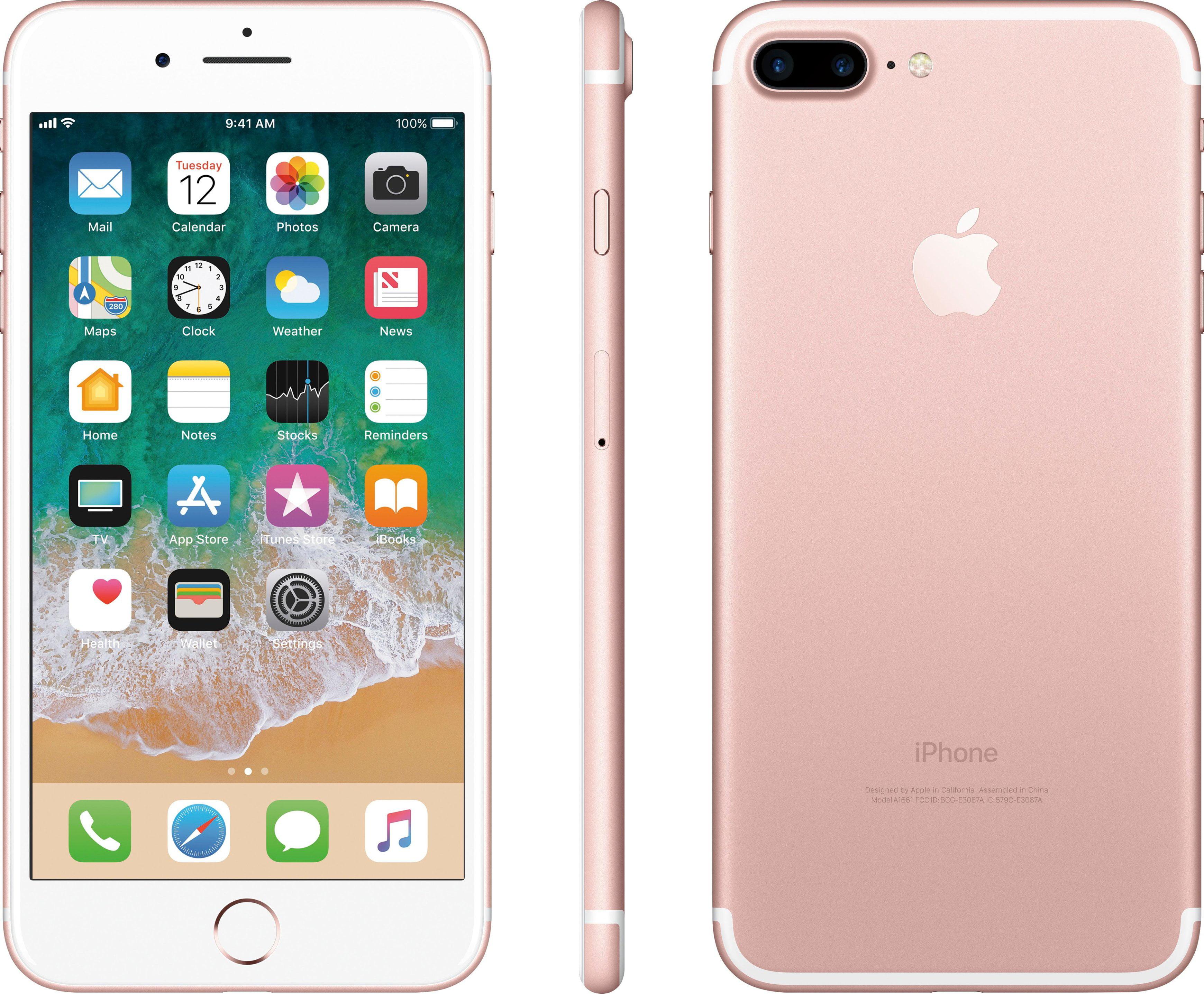 Apple Iphone 7 Plus Fully Unlocked Rose Gold 32gb A Grade Excellent Condition Walmart Com Walmart Com