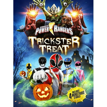 Power Rangers: Trickster Treat (DVD) - Skyler Gisondo Halloween