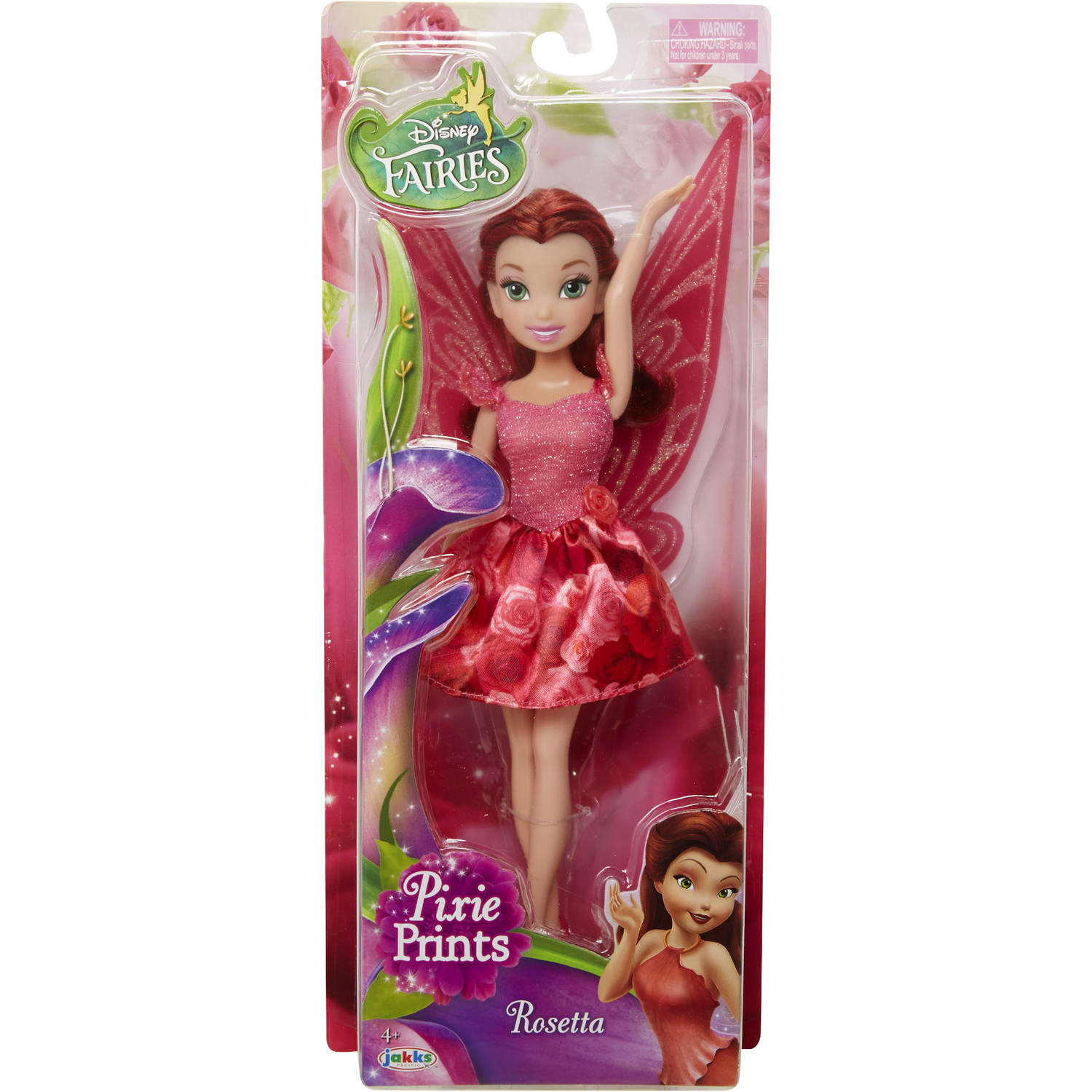 "Disney Fairy 9"" Rosetta Classic Fashion Doll, Floral"