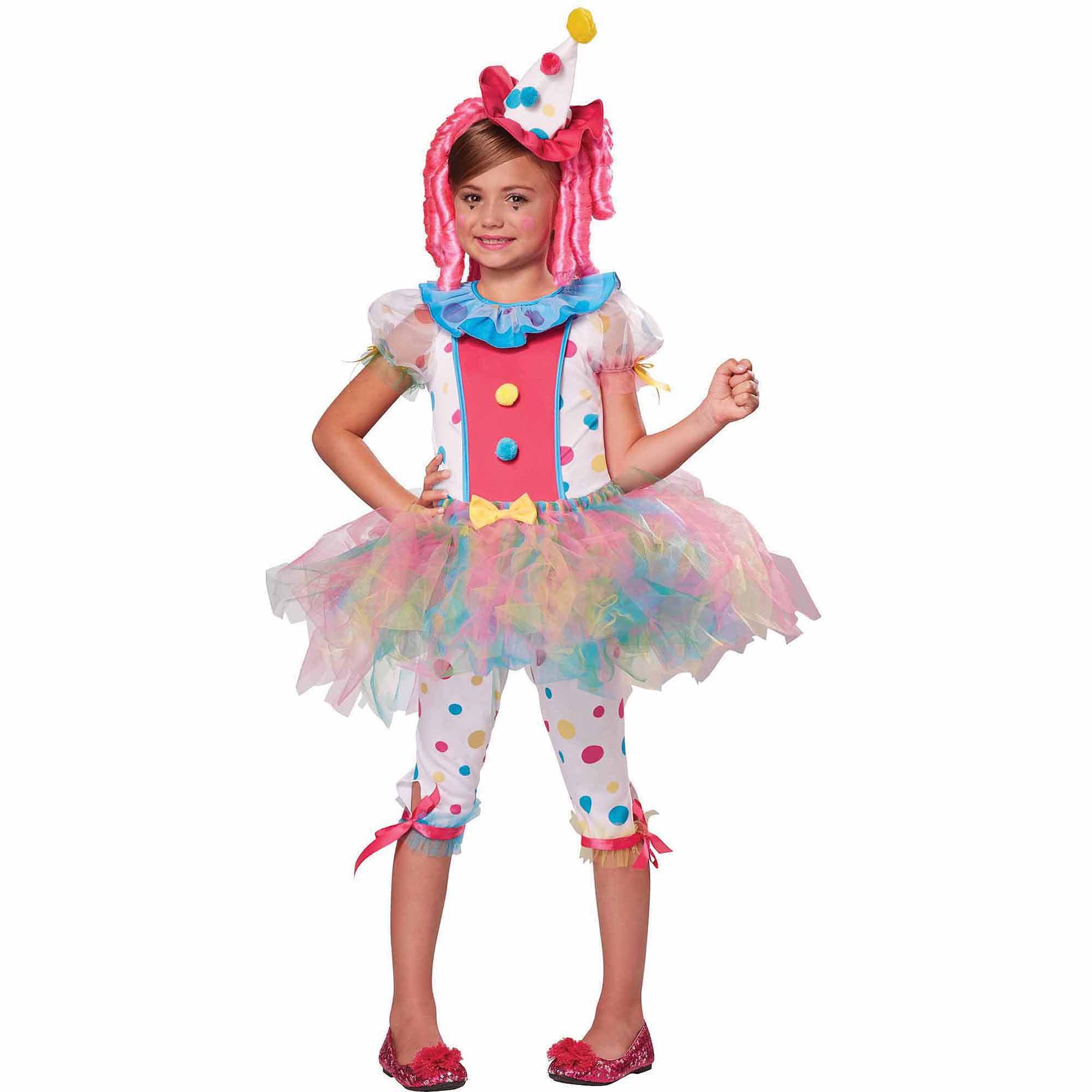 Kaleidoscope Klown Child Halloween Costume