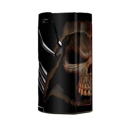 Skin Decal Vinyl Wrap for Smok T-Priv 3 Kit 300w TC Vape skins stickers cover/ Grim reaper in shadows