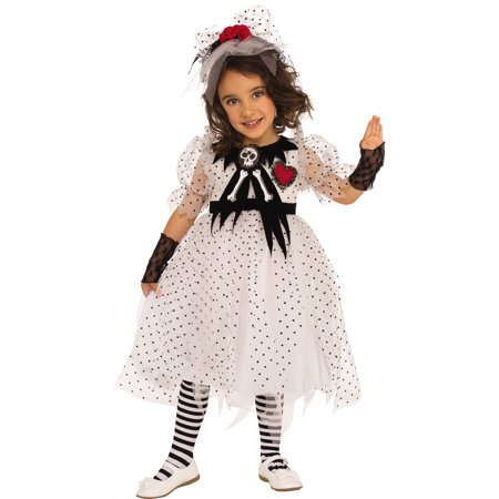 Ghost Girl Child Creepy Little School Ghoul Halloween Costume