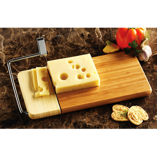 Prodyne Bamboo Cheese Slicer