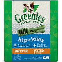 Dog Treats: Greenies Hip + Joint Petite