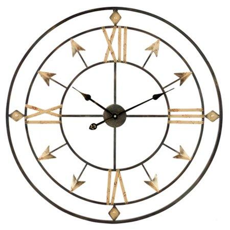 Antique Arrow (Kiara Arrow Wall Clock, Antique)