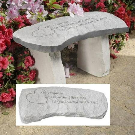 Design Toscano A Single Kiss Cast Stone Memorial Garden