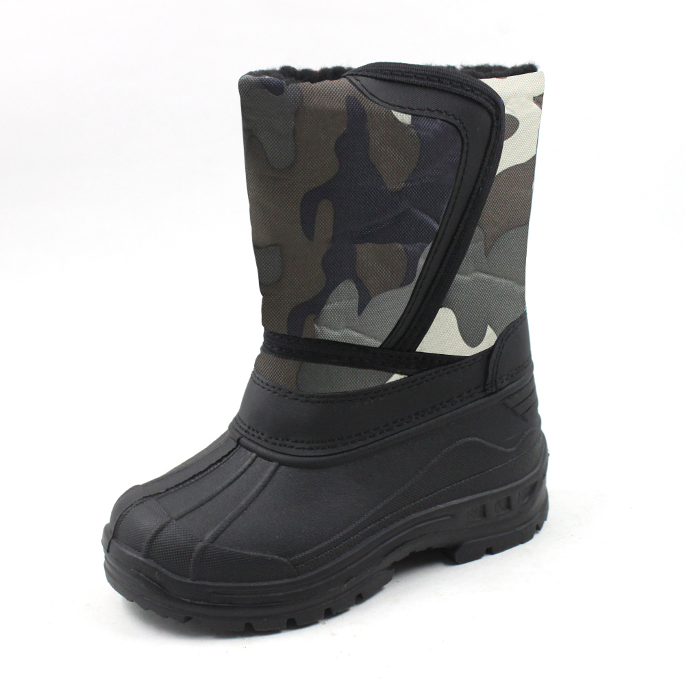 Ska-Doo Cold Weather Snow Boot 1319 Gray Camo Size 2