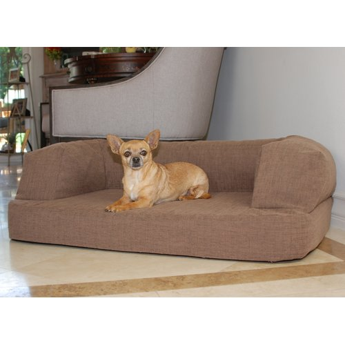 Tucker Murphy Pet Bilodeau Premium Memory Foam Orthopedic Dog Sofa