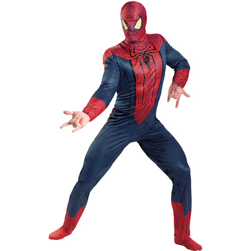 "Spider-Man (""The Amazing Spider-Man"") Classic Muscle Adult Halloween Costume"