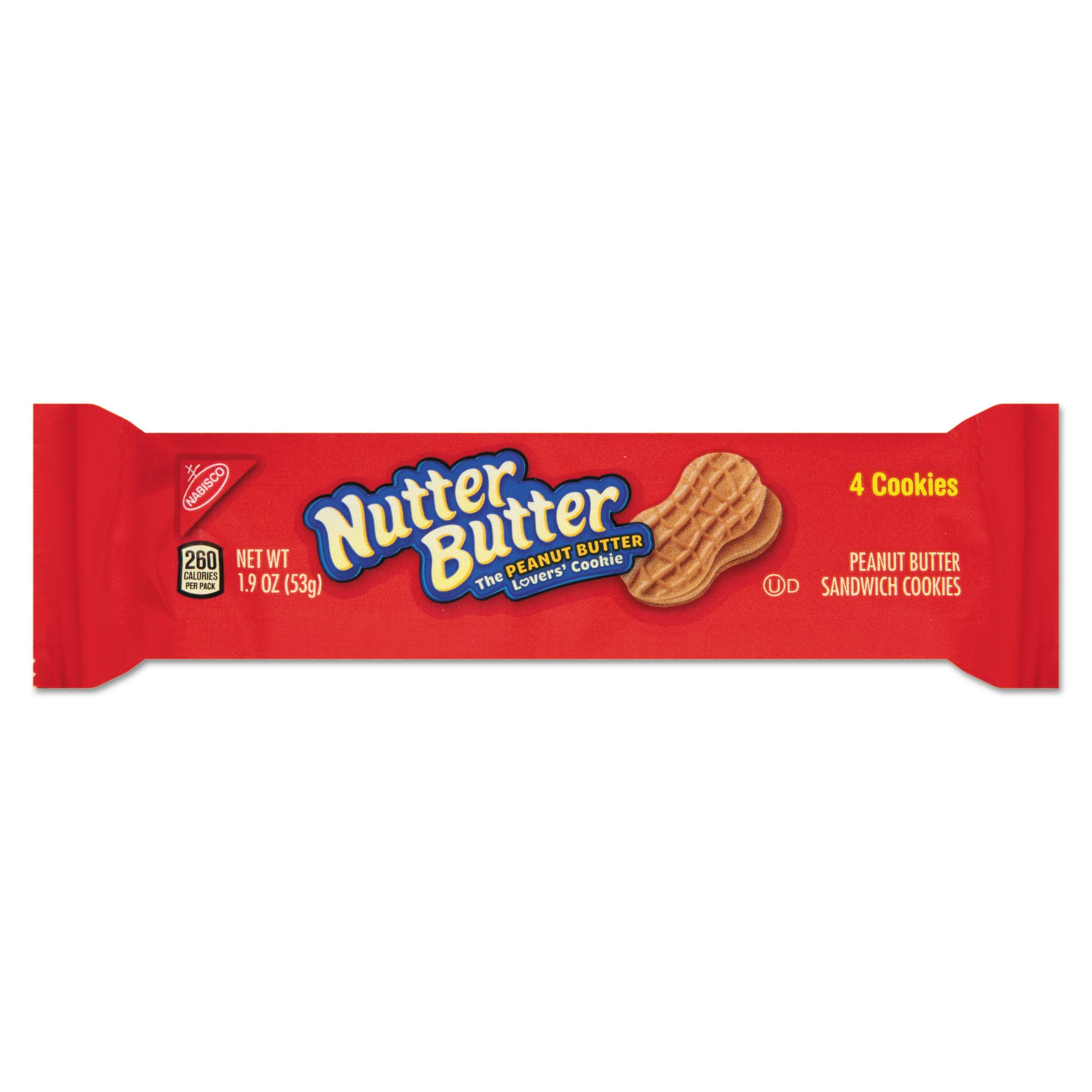 NABISCO FOOD GROUP Mondelez Global Llc, Nabisco Nutter Butter Cookies  -  12 Pk, 1.9 Oz