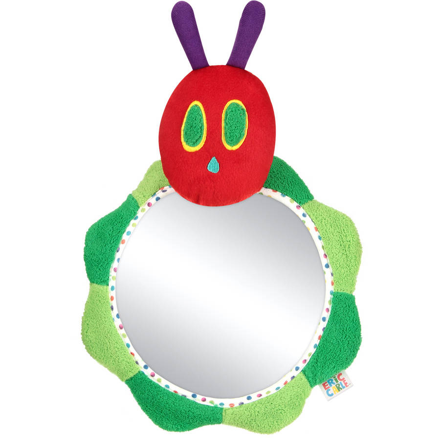 Eric Carle Caterpillar Backseat Baby View Mirror