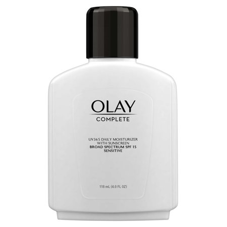 Everyday Protection Face Lotion - Olay Complete Lotion Face Moisturizer with SPF 15 Sensitive, 4.0 oz