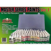 Master Series Paint Set #1 (09001-09111 w/Caddy) SW (MINT/New)