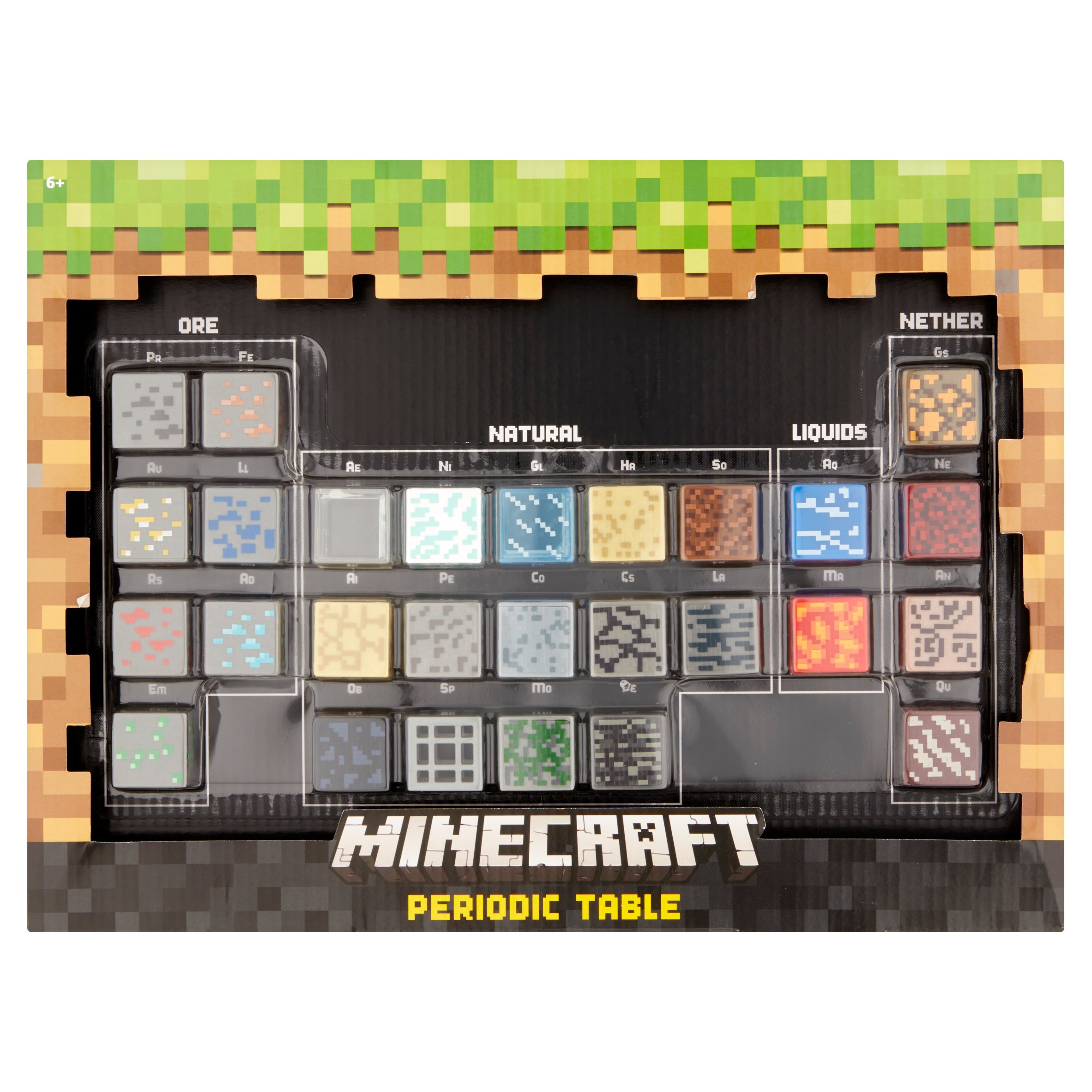 Minecraft periodic table walmart gamestrikefo Choice Image