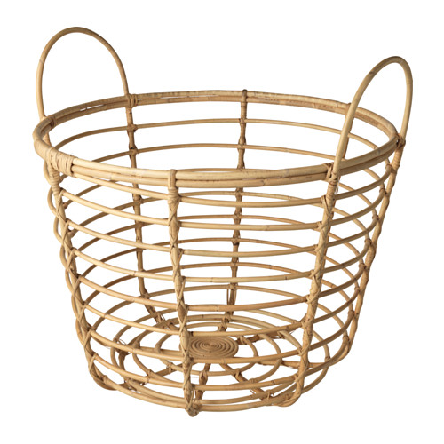 Ikea Basket with handles, rattan 1028.142311.26