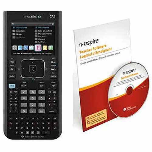 Texas Instruments N3CAS/CBX/2L1/B TI-NspireCX CAS Teacher Bundle