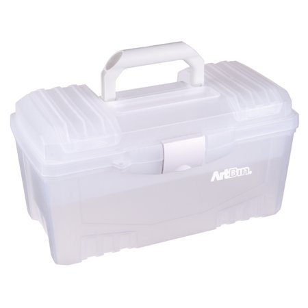 ArtBin Twin Top Storage Boxes with Lift-Out Tray