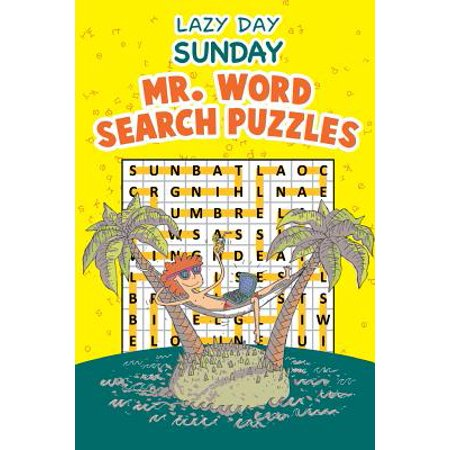 Lazy Day Sunday : Mr. Word Search Puzzles (Words To Mr Brightside By The Killers)