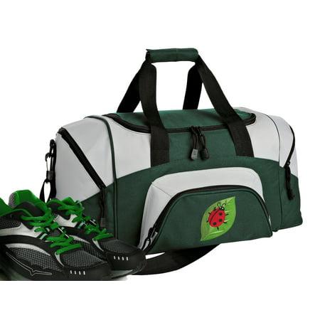 Small Gym Bags (Small Ladybug Duffel Bag or Small Ladybug Gym)
