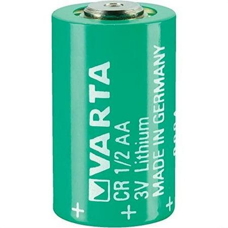 varta cr 1/2 aa series lithium 3 v 950 mah cylindrical
