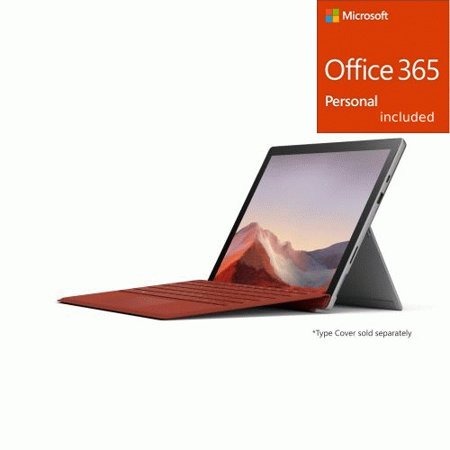 "Microsoft Surface Pro 7 12.3"" Core i3 4GB 128GB SSD Platinum + Office 365 Bundle"