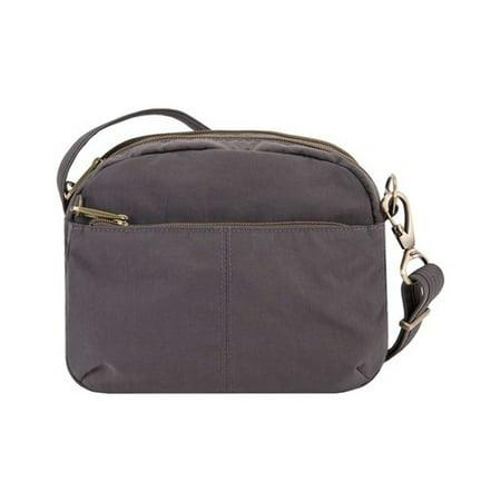 Travelon Anti-Theft Signature East/West Shoulder Bag  9
