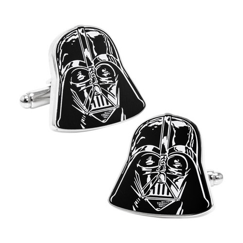 Men's Star Wars Darth Vader Head Cufflinks
