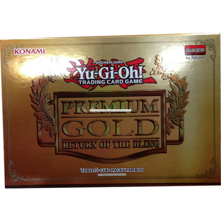 Yu Gi Oh  Premium Gold Return Of The Bling Collection Box
