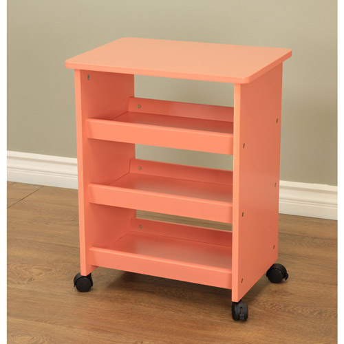 Home Craft All-Purpose Rolling Table, Multiple Colors