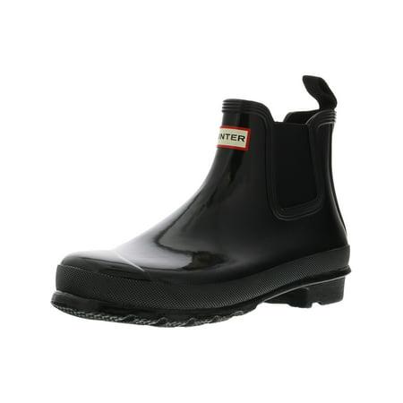 Hunter Women's Original Chelsea Rgl Ankle-High Rubber Rain Boot