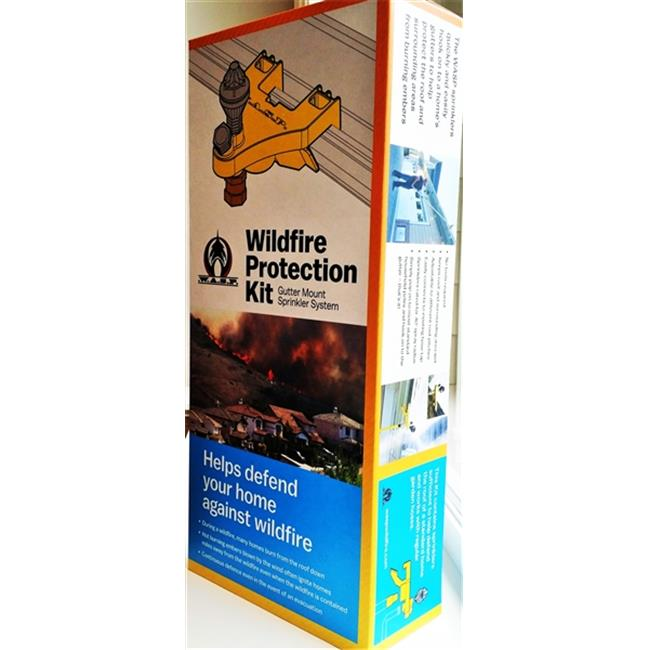 Wasp Gutter Mount Sprinkler System Wildfire Protection Basic Kit