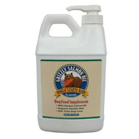 Grizzly Salmon Oil for Dogs, 64 oz.