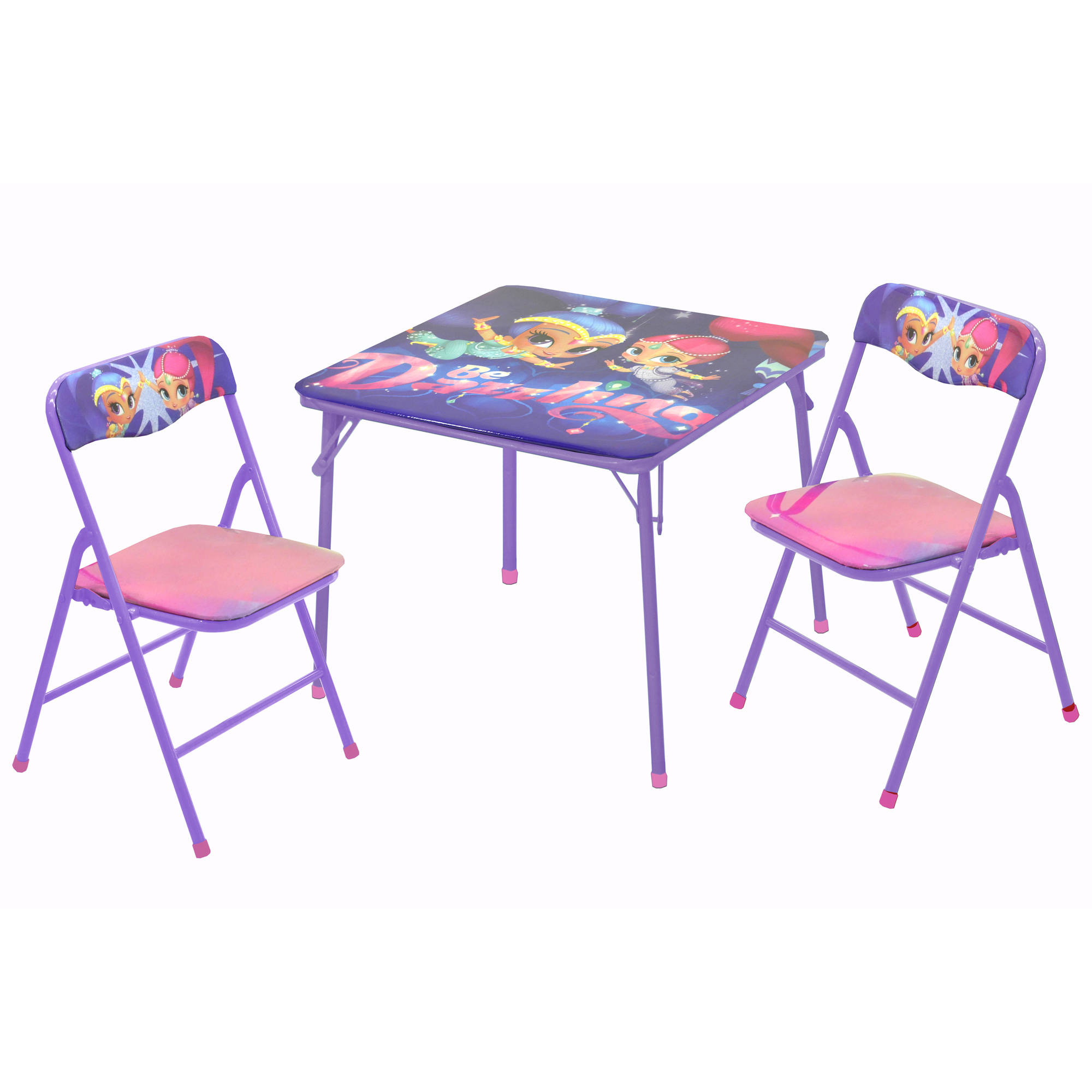 Shimmer And Shine 3 Piece Table And Chair Set   Walmart.com