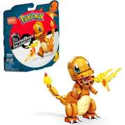 Mega Construx Pokemon Charmander Construction Set with character figures, Building Toys for Kids (180 Pieces)